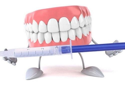 kit clareamento dental 44% 10 seringas+led+molde lote 2019