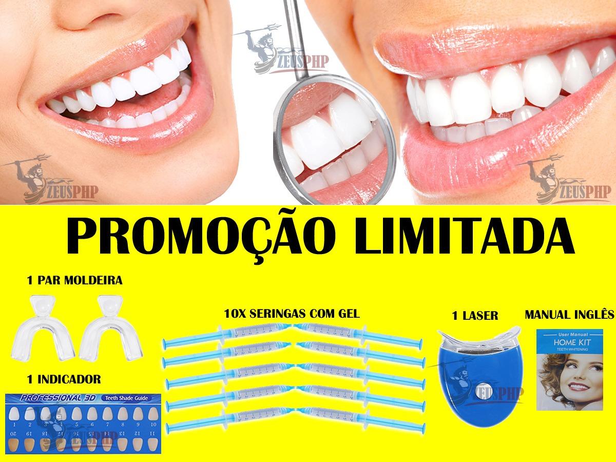 Kit Clareamento Dental Com 10 Refis Completo R 65 90 Em Mercado Livre
