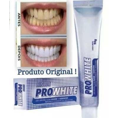 Kit Clareamento Dental Gel Dental E Antisseptico Pro White R 21