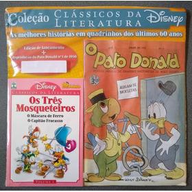 Kit Clássicos Da Literatura Disney 1 + Pato Donald 1