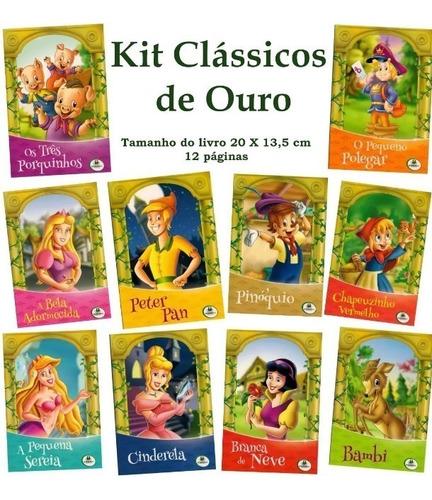 kit clássicos de ouro + adoráveis + de sempre