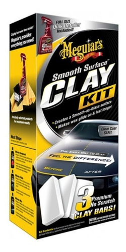kit clay bar meguiar's