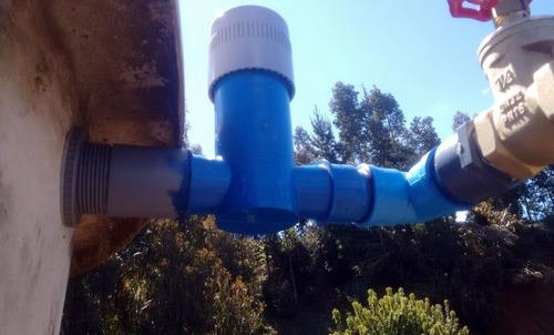 kit clorador agua potable + 6 tabletas y conector estanque!