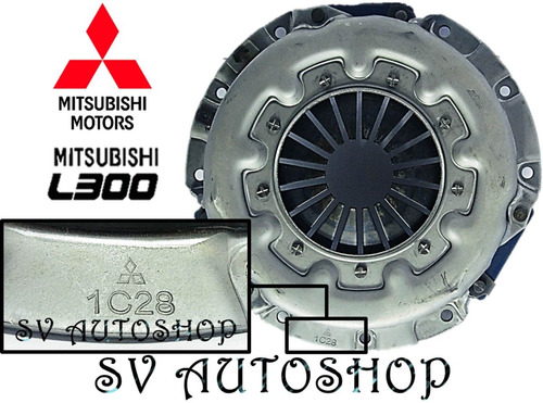 kit clutch croche embrague mitsubishi panel l300 motor 2.0