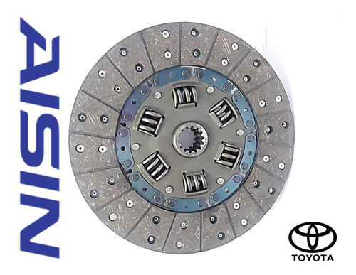 kit clutch croche embrague toyota machito hembrita 4.5 aisin