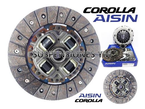kit clutch croche todos corolla 1.6 1.8 disco plato collarin