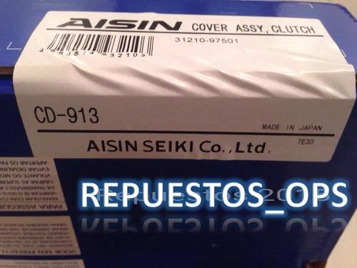 kit clutch embrague croche terios 1.3 4x2 aisin 2002 - 2007