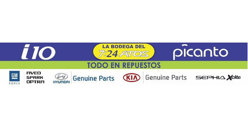 kit clutch embrague hyundai eon  original valeo