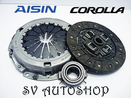 kit clutch toyota corolla 1.6 1.8 new sensation 2003 2004