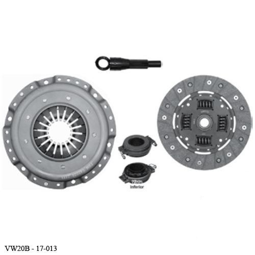 kit clutch vw panel 1.6 lts 1974 1975 1976 1977 1978 / c/r