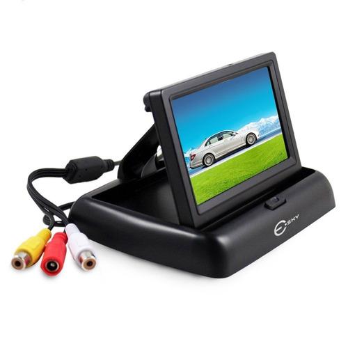 kit câm ré  vis not. color prov d'agua +monitor portátil 4.3
