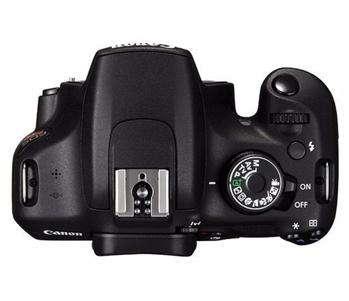 kit câmera canon rebel t5 - 18-55mm 32gb bolsa tripe nf novo