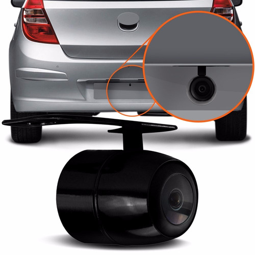 kit câmera de ré com monitor lcd 4.3 automotivo interno