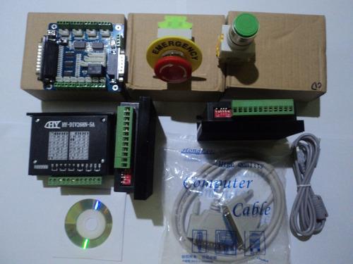 kit cnc driver control 05 ejes nema  cnc