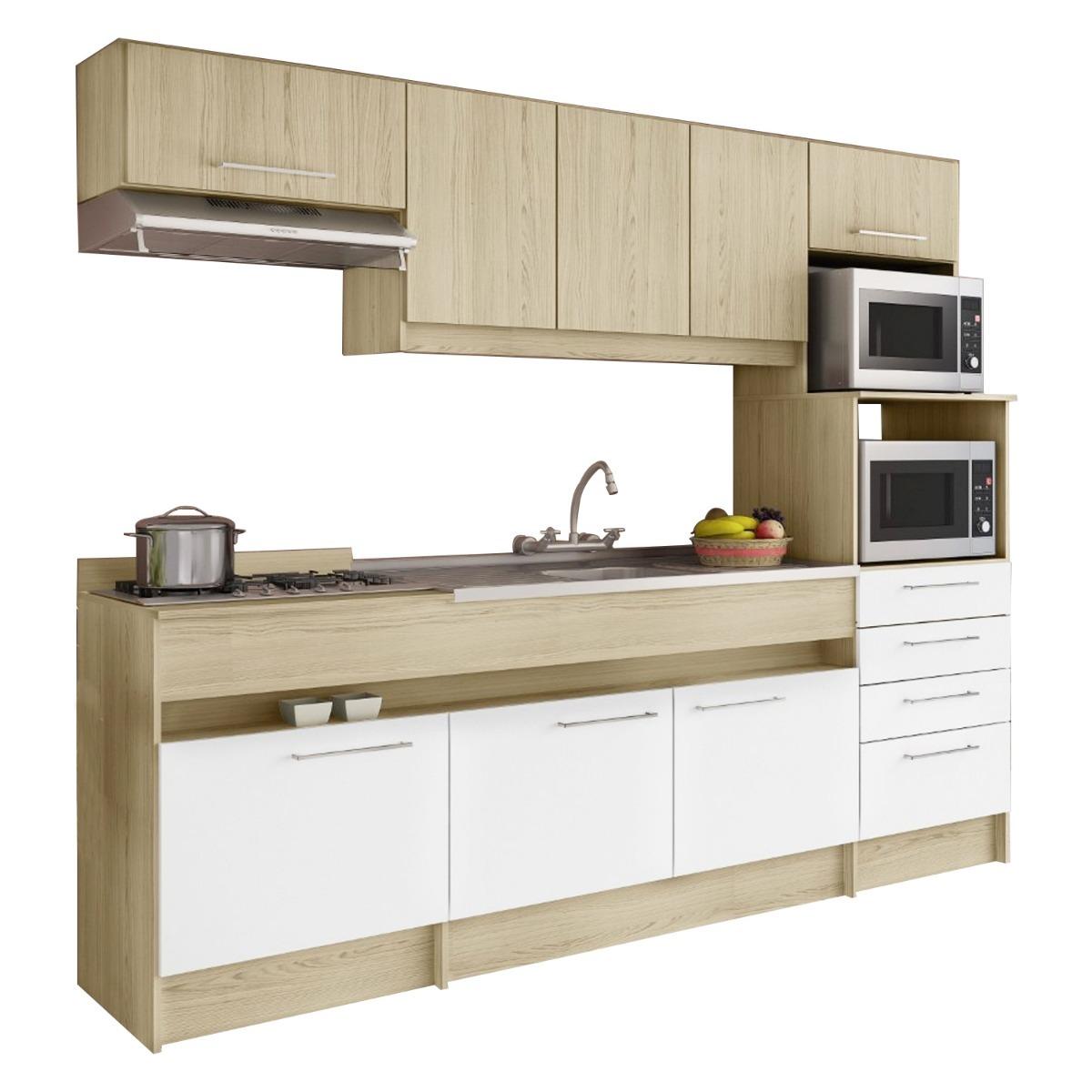 Kit Cocina Mueble 8 Puertas 4 Cajón Bali 137712 / Fernapet