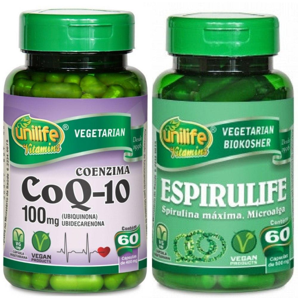 499733868 Kit Coenzima Q10 + Espirulife - Spirulina Máxima