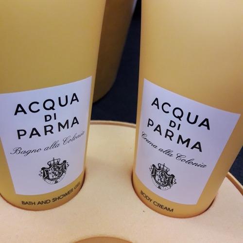 kit coffret acqua di parma colonia 100ml edt + gel banho