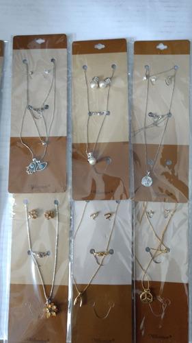 kit colar feminino ou pulseiras atacado com 45 peças