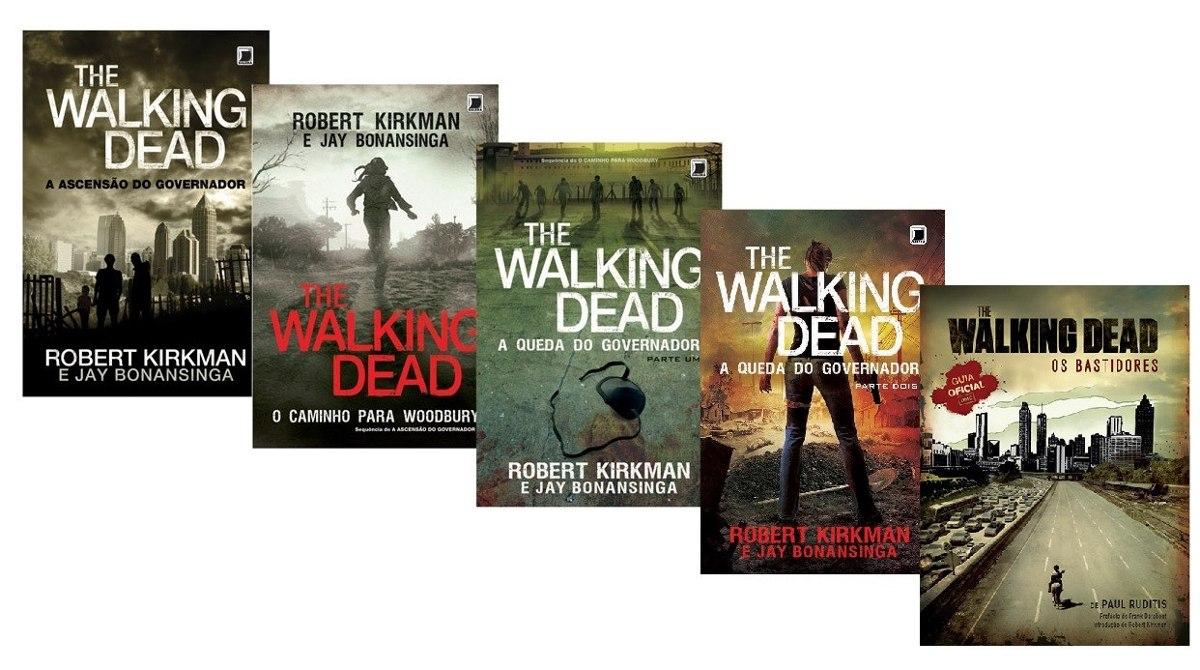Resultado de imagem para coleção livros the walking dead