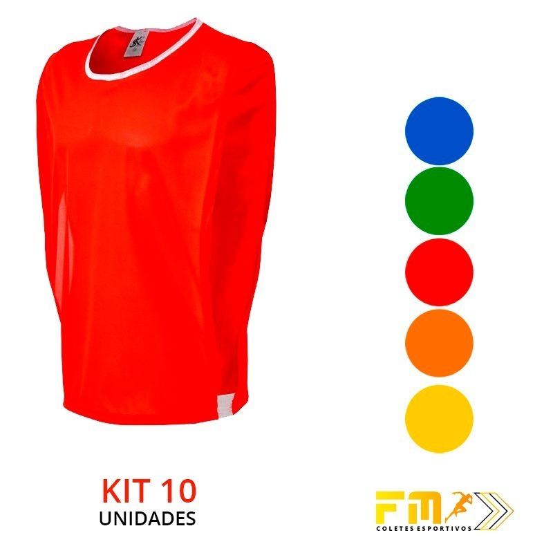 d84bdbbdd3 kit colete + bermuda futebol treino coletes 100% poliéster. Carregando zoom.