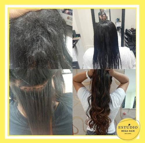 kit colocação ou manutenção de mega hair