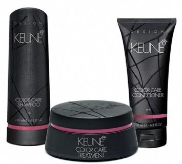 kit color care design keune  manutenção cabelos coloridos