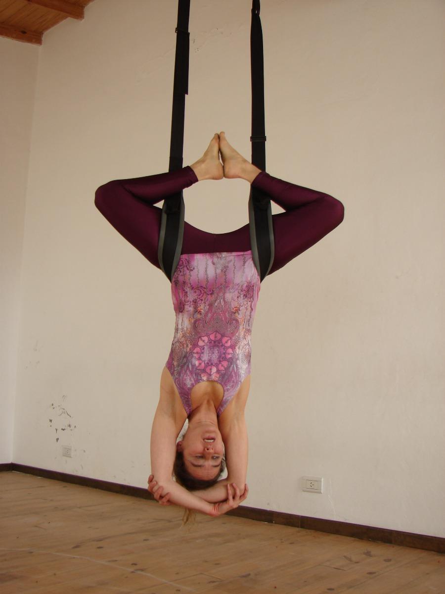 Kit Columpio Yoga Profesional + Fijaciones Para Pared/ Techo ...