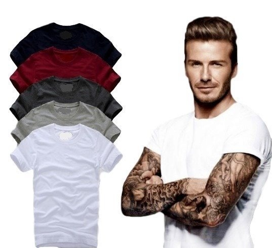 e28e5295b4 Kit Com 02 Camisa Slim Fit Básica Lisa - Masculina Ref 107 - R  52 ...