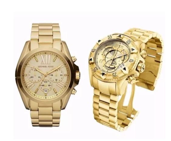 30868545b24 Kit Com 02 Relógio Promoção Relógios Importado De Alta Qual - R  149 ...