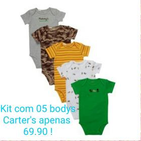 Kit Com 05 Bodys Carter's Apenas 69.90