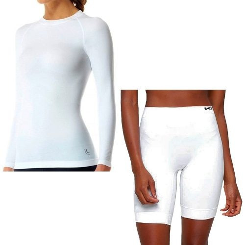 Kit Com 1 Camiseta Térmica S Costura E 1 Bermuda Térmicalupo - R ... c74d80f78b62a