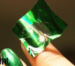 kit com 10 adesivos nail foil transfer/ folhas de 15cm x 4cm