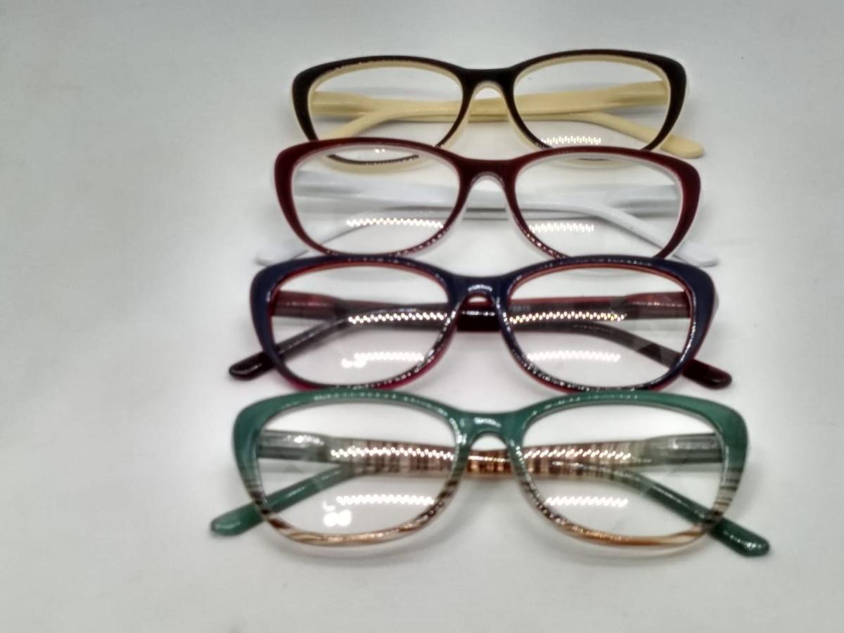 17fb74fa6 Kit Com 10 Armações Para Óculos De Grau Atacado - R$ 119,90 em ...