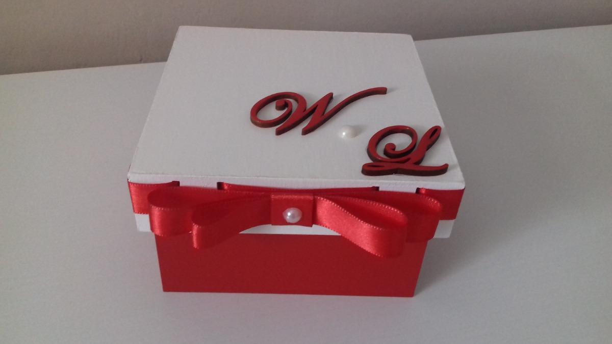 Kit Com 10 Caixas Convite Casamento Padrinhos Mdf R 21990 Em