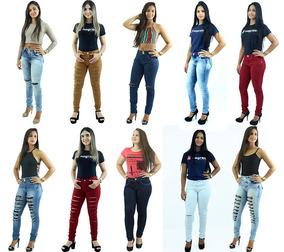 a00fe6ccf Calca Jean Feminina Colcci Atacado Tamanho 48 - Calças Jeans ...