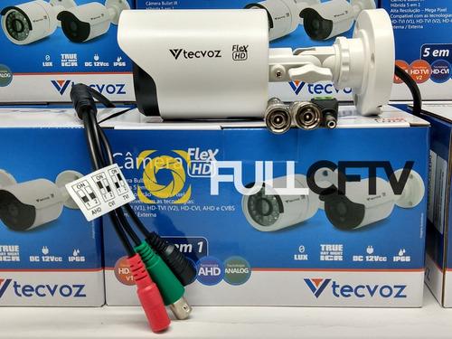 kit com 10 cameras bullet ccb-128p + brinde