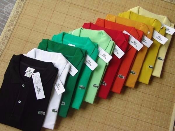 c11aa18541 Kit Com 10 Camisa Polo Masculina Importada Varia Marcas - R  189