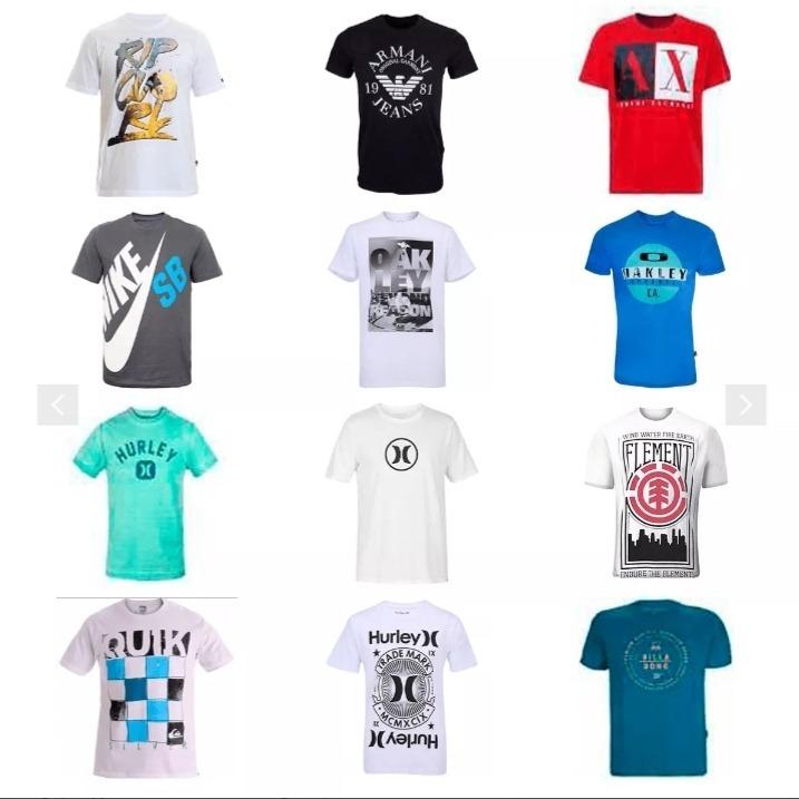 65d3d0d93d Kit Com 10 Camisas Camisetas Oferta Top Show Confira - R$ 87,99 em ...