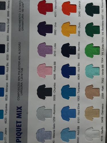 kit com 10 camiseta gola polo