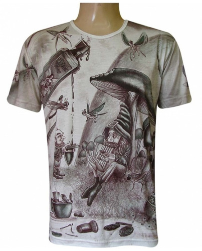 1753c8d84 Kit Com 10 Camisetas Batas Blusas Malha Fria Viscose - R  250