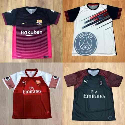 kit com 10 camisetas de time camisas de futebol atacado