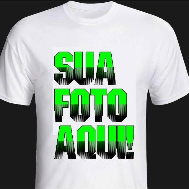 af7af9e1e Kit Com 10 Camisetas Personalizadas - R  174