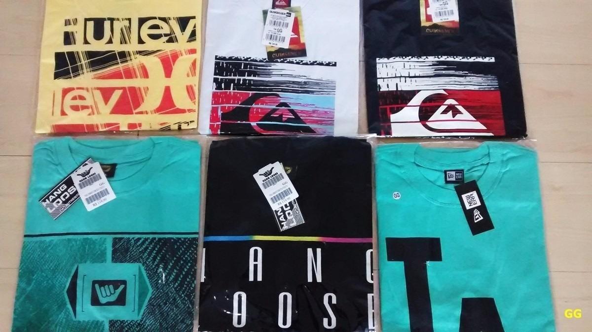 Kit Com 10 Camisetas Preço Atacado Quiksilver Hang bc4480218add0