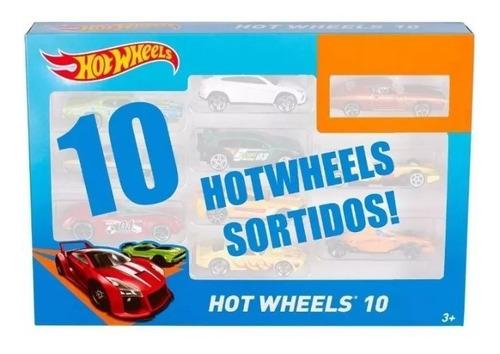 kit com 10 carrinhos hot wheels não repetidos pronta entrega
