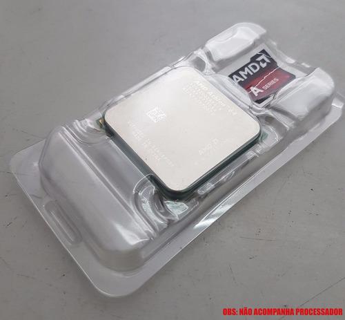 kit com 10 case processador am2/am3/am3+/fm2/fm1 + adesivo