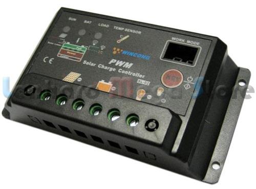 kit com 10 controlador carga painel solar - 20 amperes 20a