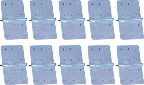 kit com 10 dobradiças p/ montagem de aero elétrico/combustão