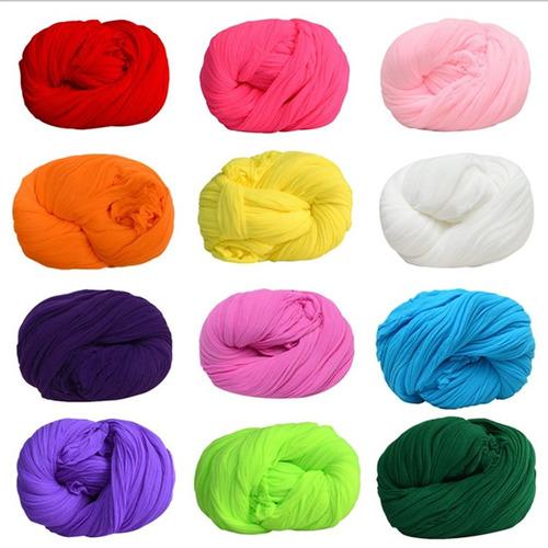 kit com 10 faixa de meia de seda para artesanato - atacado