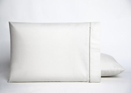 kit com 10 fronhas ponto palito tecido 100% algodão