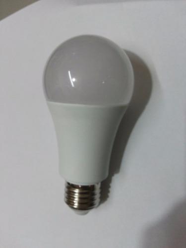 kit com 10 lâmpadas led bulbo a60 9w bivolt